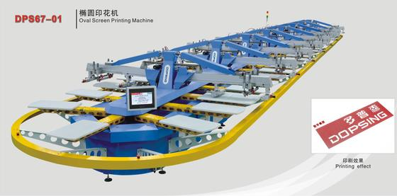 DPS67-01 Multi-Color Fully Automatic Oval Screen Printing Machine