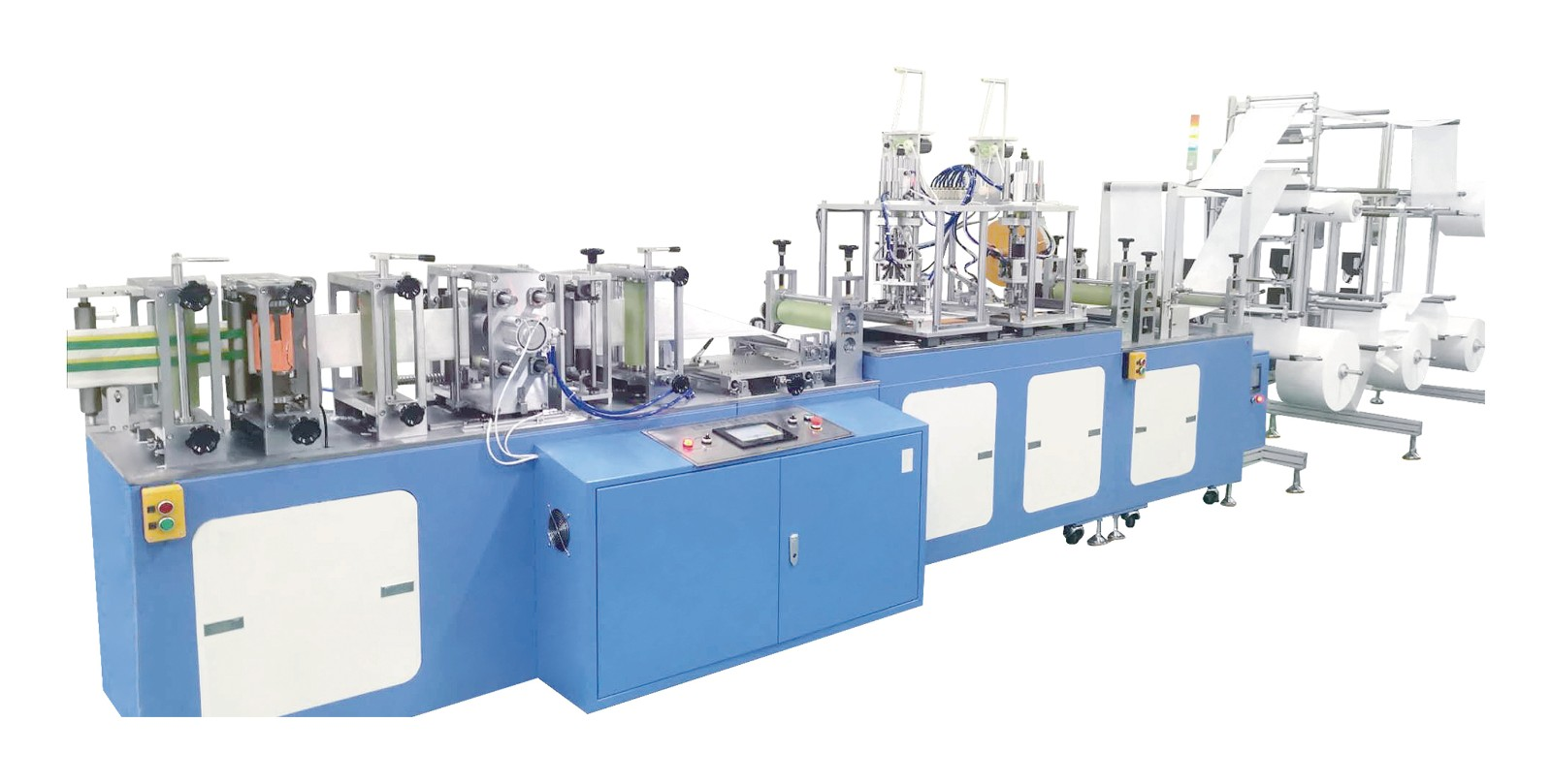 Fully Automatic High Speed KN95 Face Mask Machine with 120CPS per MIN